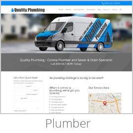 Plumber Website Demo